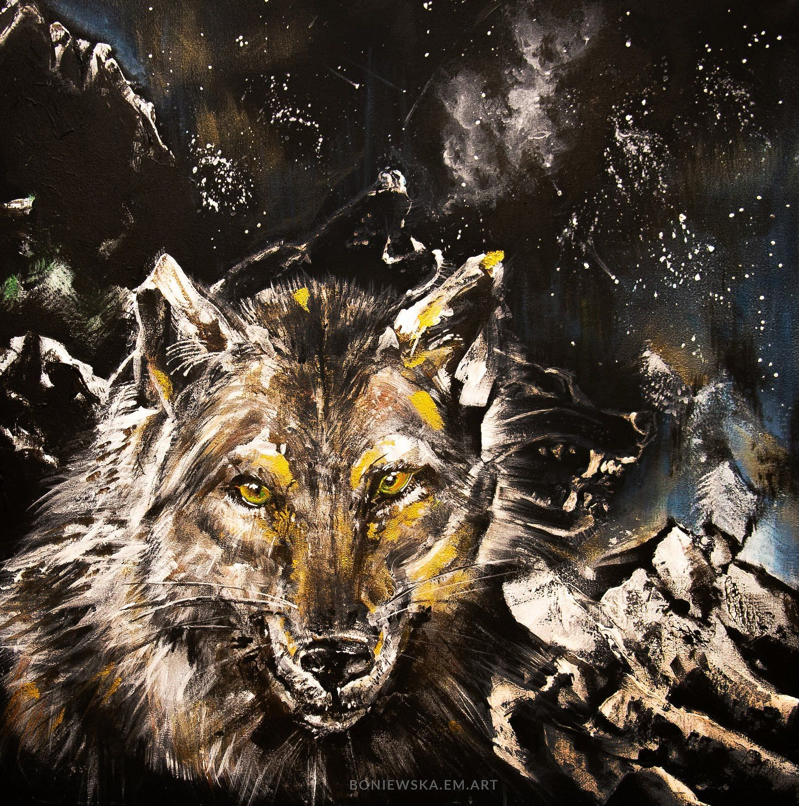 She Wolf painted
